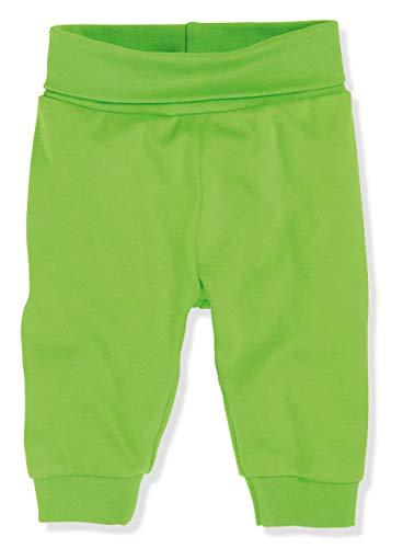 Schnizler Kinder Pump-Hose aus 100% Baumwolle, komfortable und hochwertige Baby-Hose mit elastischem Bauchumschlag, Grün (Grün 29), 80