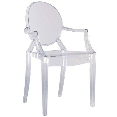 Kartell 4852B4 Stuhl Louis Ghost Glas klar