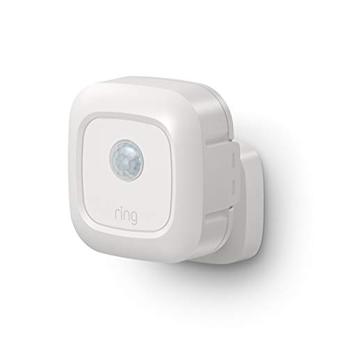 Ring Smart Lighting – Outdoor Motion-Sensor, White (Ring Bridge required)