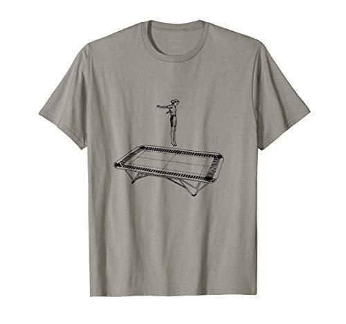Saltar en un trampolín Camiseta