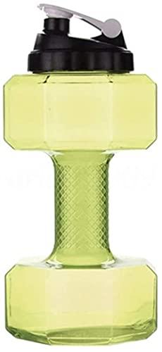Educación 2 2 L Agua Mancuernas Kettle Gimnasio Fitness Pérdida de Peso Formación Push Cap Botellas de Agua Ejercicio Equipo de Ejercicio Ejercicio (Color: Amarillo)-Amarillo