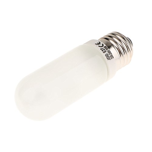Baoblaze JDD Typ E27 100W Halogenlampen Röhrenlampe Fotografie Flash Modellierung Licht für Fotostudio-Blitz