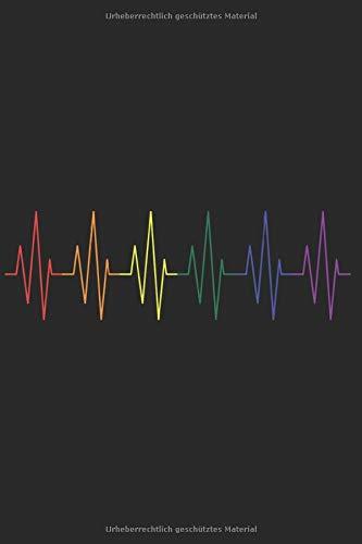 Notizbuch: LGBT Gay Pride Notebook A5 liniert I Geschenk für Schwule und Lesben I Regenbogen Tagebuch oder Journal
