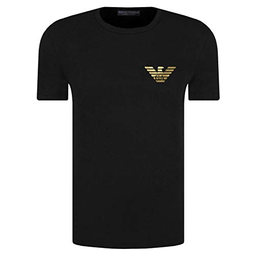 Emporio Armani T-Shirt Hombre 111035 0A526, Camiseta Cuello Redondo, Manga Corta