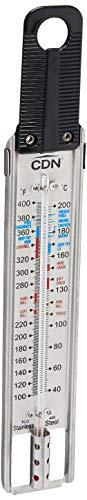 CDN Candy et thermomètre pour friture, 40 à 200 °C