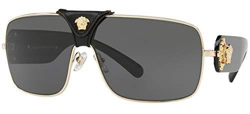 Versace 0Ve2207Q Gafas de Sol, Gold, 40 Unisex