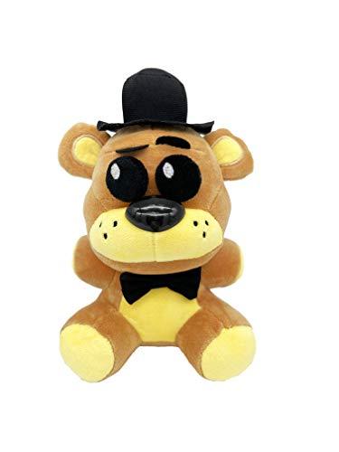 Golden Freddy - 5 Nights Freddy's Plush: Shadow Nightmare Phantom Withered Freddy Fazbear - Freddy Plush - Birthday Plush Gift - Stuffed Animal - XSmart Mall