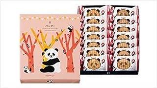 パンダのシュガーバターサンドの木 14個入