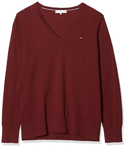 Tommy Hilfiger New Ivy V-neck jumper trui voor dames