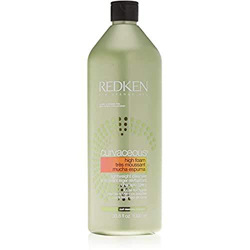 Redken Curvaceous High Foam Shampoo, 1er Pack, (1x 1000 ml)