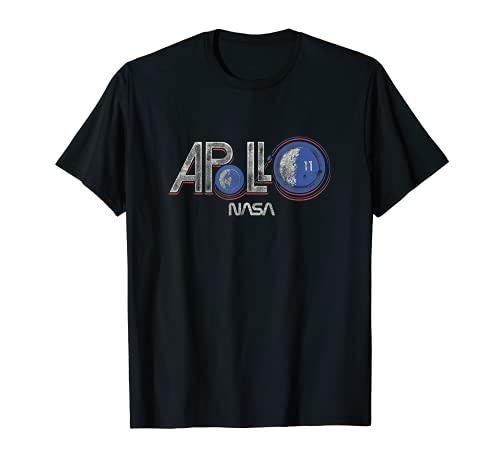 NASA Logotipo vintage de Apolo 11 Camiseta