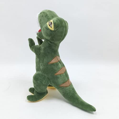 beibeiwang Dinosaurio Peluche Juguete, Relleno Suave Muñecos Almohada Animales Dibujos Animados, Juguetes para Niños, Regalos Cumpleaños Navidad para Niño Decoración del Hogar 55 Cm (Verde) 1 Pieza