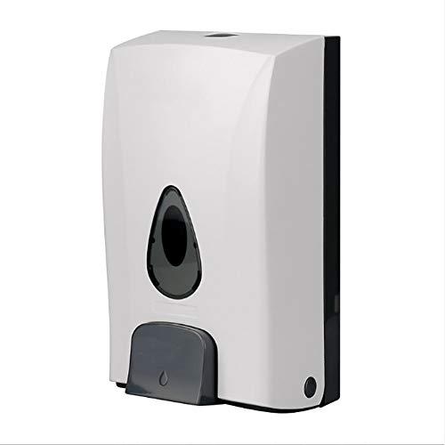 zeep dispenser QINXUE SHOP, Muur gemonteerd Handmatige Pomp, Vloeibare Shampoo Douchegel Hand Dispenser, Voor Thuis Badkamer Keuken Of Zakelijk Gebruik, Wit