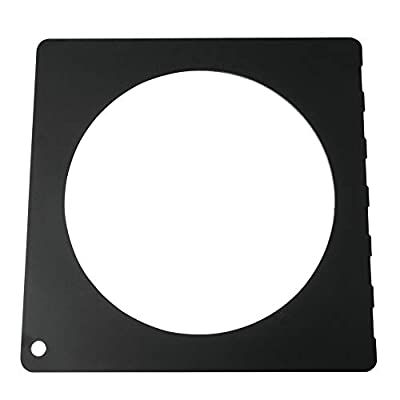 Eurolite Black PAR 64 Square Filter Gel Frame for Lighting Gel Sheet