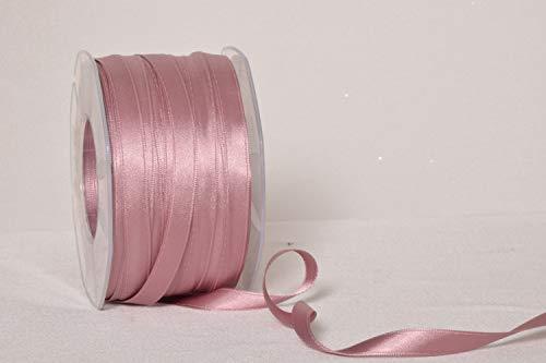 Furlanis Nastro Doppio Raso, Rosa Antico, 10 mm x 100 m