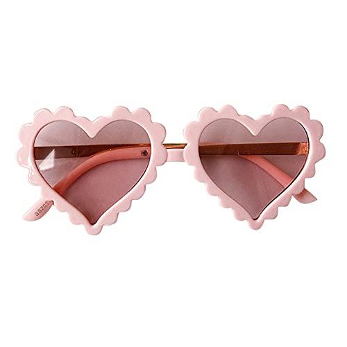 Gafas De Sol Para Niños En Forma De Corazón Gafas De Sol Para Bebés Anti-UV Gafas De Sol Polarizadas De Moda Marco Grueso Gafas De Sol Flexibles Clásicas Para Regalos De Fiesta, Herramientas De Cámara