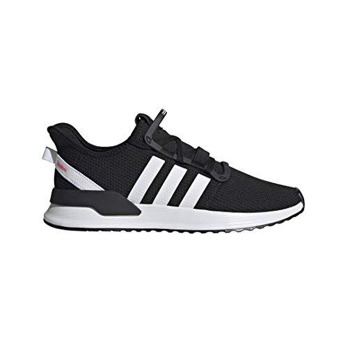 adidas Originals Men's U_Path Run Sneaker, Core Black/White/Shock Red, 8.5