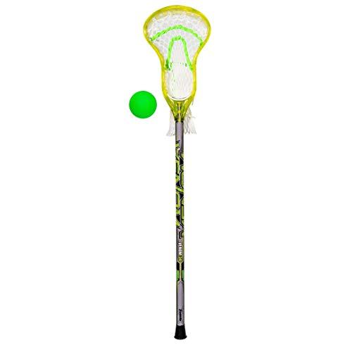Franklin Sports Mini Pro Style Venom Lacrosse Stick & Ball Set - 34'