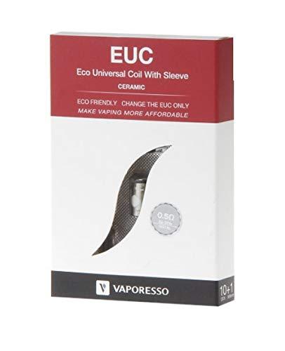 Vaporesso Keramik EUC Coil 5er Pack Größe 0,5Ohm Ceramic