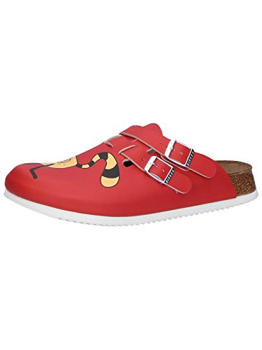 Birkenstock Professional Kay, Zoccoli Donna, Rosso (Rot (Cat Red Background), 41
