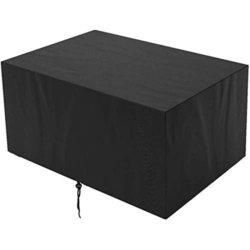 Furniture Cover, Outdoor Garden Waterproof Covers, Garden Table and Chair Wind Cover, Dustproof, Rainproof, Snowproof, Ultraviolet Combination Table and Chair Cover, Used for Outdoor Cube Set, Courtya