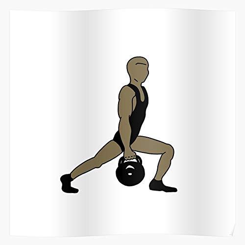 Fitness Exercise Workout Motivation Gym Bodybuilding Health Funny El póster de decoración de interiores más impresionante y elegante disponible en tendencia ahora