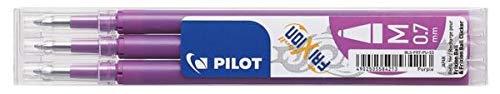 Pilot Frixion - Recambio de punta redonda borrable (0,7 mm), color morado