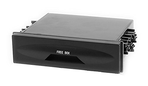 Carav 11-907 DIN Schublade Ablagefach für Radioblende Universal