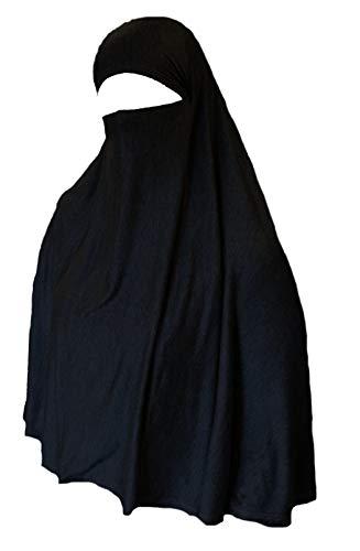 Taille 56 noir Rapidshare abaya hijab niqab robe voile burqa long caftan Arabie Désert
