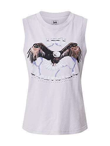 Lee Muscle tee Camiseta, Lavender Dusk, M para Mujer