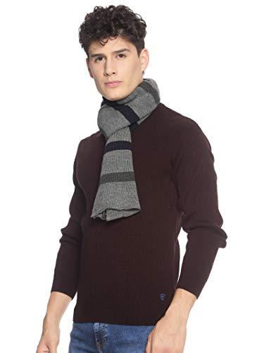 513 Men Acrylic Woolen Casual Winter Wear Striped Knitted Warm Premium Mufflers Grey 2 317hjv56QUL. SL500