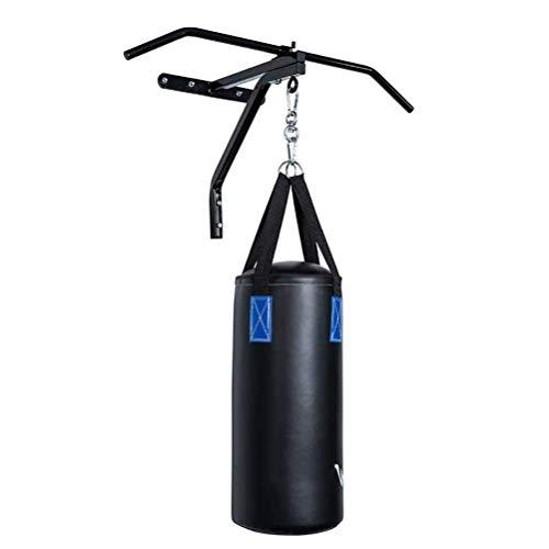 GYPPG Soporte para Sacos de Boxeo Soporte para Sacos de Boxeo montado en la Pared para Trabajo Pesado Soporte suspensión Gimnasio Interior Entrenamiento Boxeo Pull-Ups excluyendo Sacos d