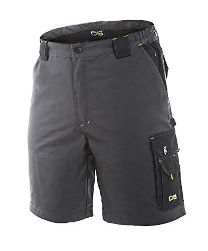 DINOZAVR Brave Herren Shorts/kurzen Arbeitshosen - für den Sommer - Grau M