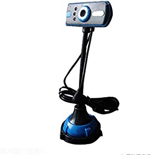WXFXBKJ HD USB Driver-Free Video Webcam with Night Light and Microphone, Special Webcam for Student Network Video Teachin...