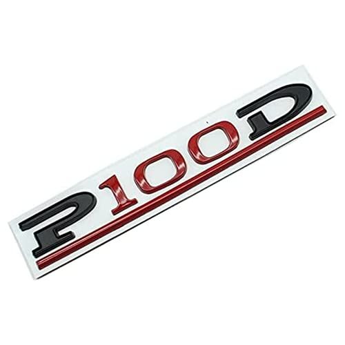 linlinDM Letra P100D Styling Case Case Case Emblem Badge Styling Pegatina Compatible con Tesla Modelo 3 S X Y Coche Shooting Metal Logo Accesorios Autólogo Adhesión Etiqueta Engomada,5pcs Green Mix