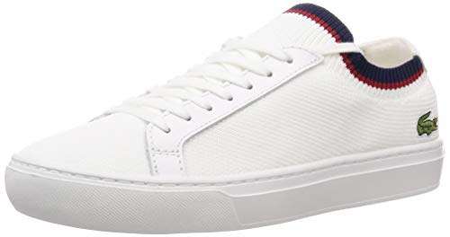 Lacoste La Piquee 119 1 CMA, Zapatillas para Hombre, Blanco (Wht/Nvy/Red 407), 46 EU