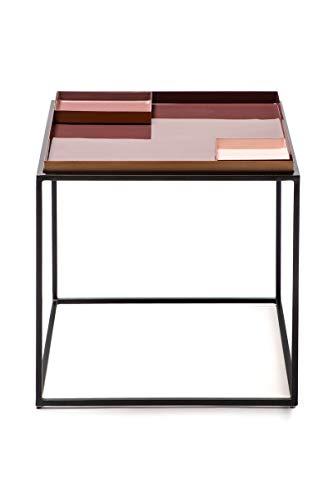 Beistelltisch Abstelltisch Couchtisch Nachttisch Tisch Konsolentisch 350 Violett/Rosé/Pink