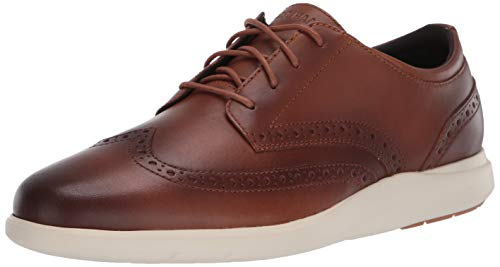 Cole Haan Herren Grand Plus Essex Wedge Wing Ox Sneaker, Braun (British Tan British Tan), 44 EU