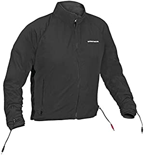 Firstgear Men's Heated 90 Watt Jacket Liner Black Large (More Size Options)