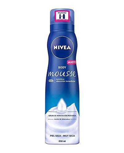 NIVEA BODY MOUSSE NUTRITIVO piel seca a muy seca 200 ml