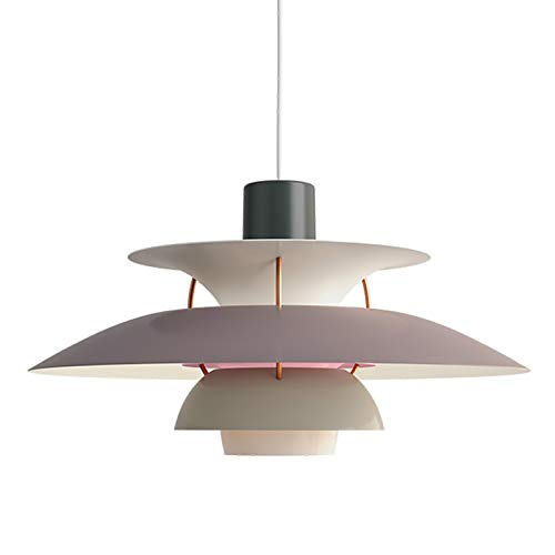 MZBZYU Lámpara Colgante LED PH5 Lámpara de Techo Escandinavo Moderno Estilo para la Sala Comedor Restaurante, No Incluye Bombilla,50CM