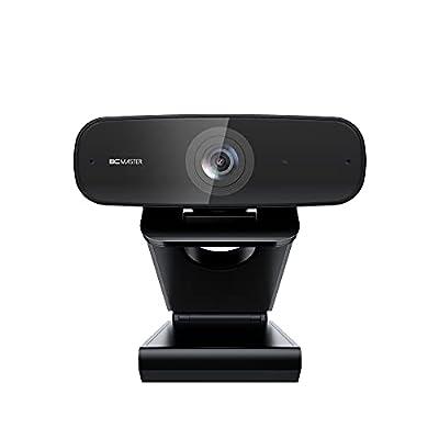 Webcam 1080P Full HD BCMASTER, Webcam PC con USB, con Micrófonos Estéreos para Videoconferencias/Llamadas/Juegos/Clases… 5