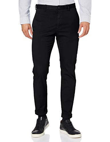 HUGO Mens David204D Pants, Black (1), 3234