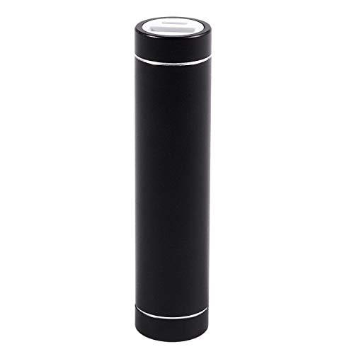 Kaxofang 2600mah Cargador De BateríA De La Caja del Banco De La AlimentacióN por USB PortáTil para El TeléFono MóVil(Sin Bateria) Negro
