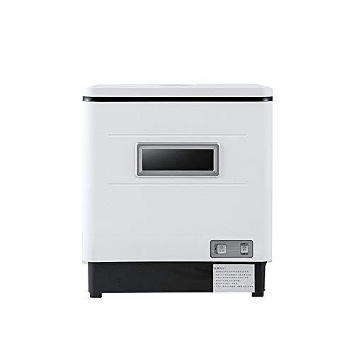 Spülmaschine, Home Desktop Installation-freies Automatische Spülmaschine 6 Sätze Von Drei-in-one Kleine Smart Spülmaschine