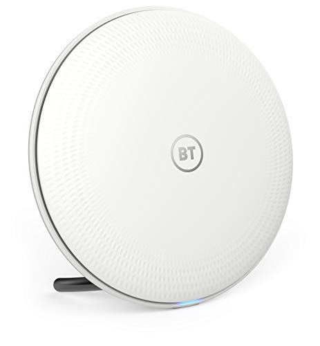Photo of BT Whole Home Wi-Fi 1 Additional Disc, for use with existing BT Whole Home Wi-Fi, Mesh Wi-Fi for seamless, speedy (AC2600) connection, App for complete control and 3-year warranty, White