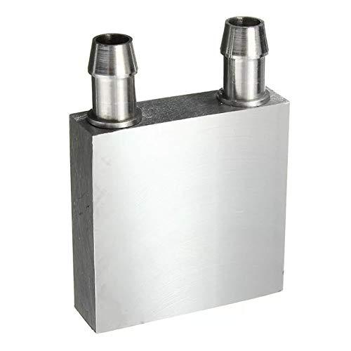 ZXJUAN Draadloze Controle 40x40x12mm Aluminium Water Koeling Blok Voor CPU Graphics Radiator Koelplaat