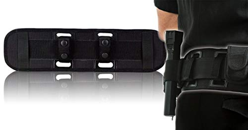 BackUpBrace Duty Belt Back Support (Phoenix Nylon) - For Use With Police Utility Belt - Reduce Strain, Pressure and Pain While Supporting Your Lower Back - Designed for Men & Women