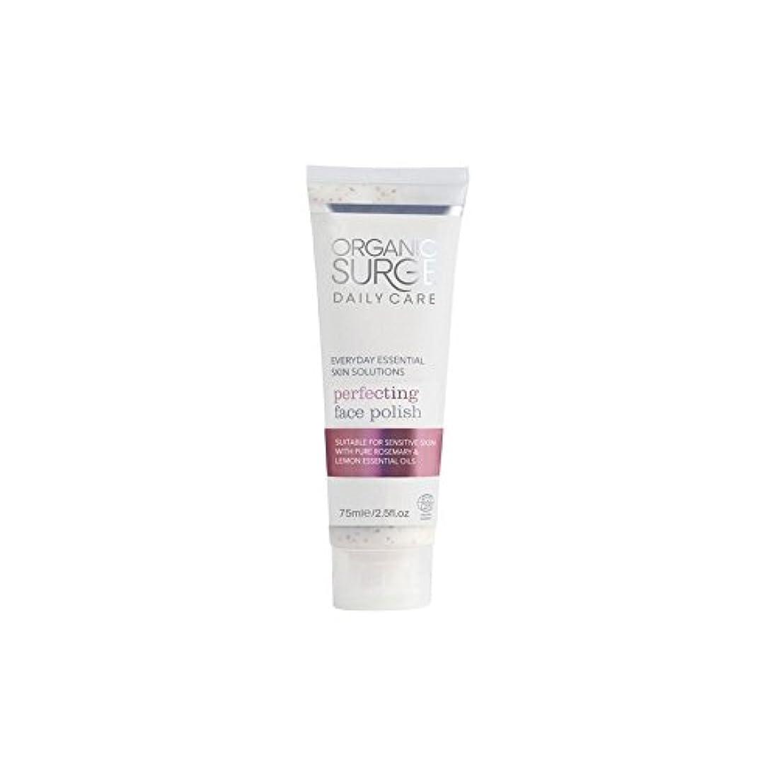 熱帯のいつ例外面研磨を完成有機サージ毎日のケア(75ミリリットル) x4 - Organic Surge Daily Care Perfecting Face Polish (75ml) (Pack of 4) [並行輸入品]