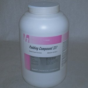 Hurst 337 White Padding Compound, 1 Gallon